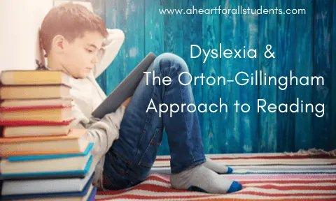dyslexia orton-gillingham