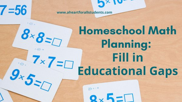 Homeschool Math Activities