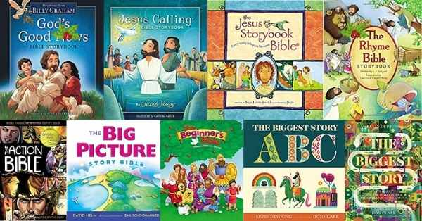 9 different children's bibles
