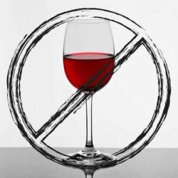 wine glass crossed out