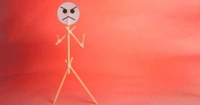 angry stick figure red