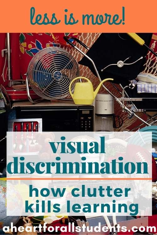 visual discrimination, visual processing, special needs learners